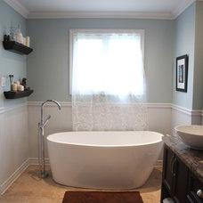 Eclectic Bathroom by MissDesign!