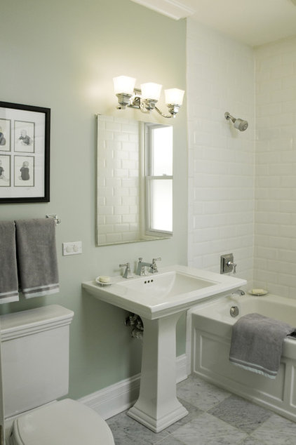 Traditional Bathroom by Molly McGinness Interior Design