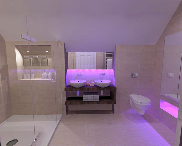 How To Harness The Power Of Colourful Bathroom Lights