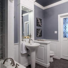 Traditional Bathroom by Mulberry's Design House