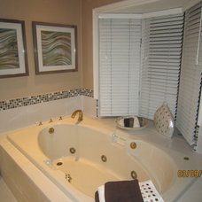 Traditional Bathroom by nadine designer touch