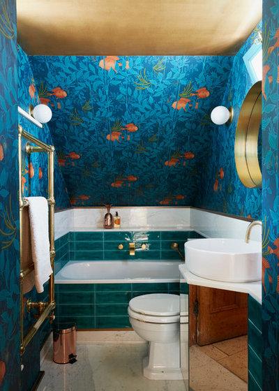 Eklektisch Badezimmer by Nick Leith-Smith Architecture + Design