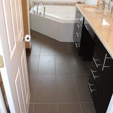 Traditional Bathroom by Kurtis Kitchen & Bath Centers