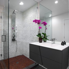 Contemporary Bathroom by janine dray design