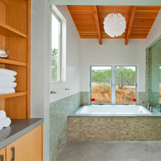 Contemporary Bathroom by Office of Architecture, Neel Morton AIA