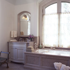 Traditional Bathroom by Oliver Cope Architect