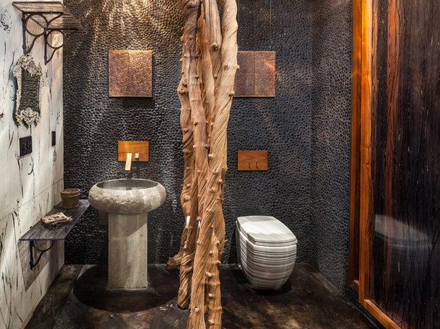 インダストリアル 浴室 by KuDa Photography