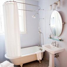 Traditional Bathroom by SVK Interior Design