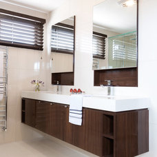 Modern Bathroom by Orbit Homes