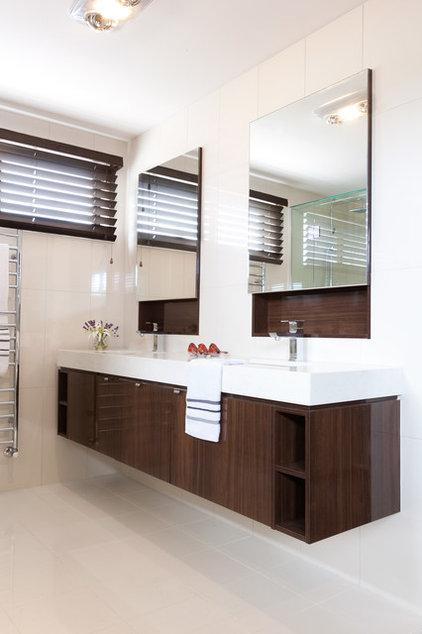 Modern Bathroom by Orbit Homes