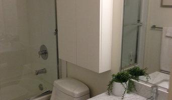 Bathroom Organization 1 Bedroom Condo