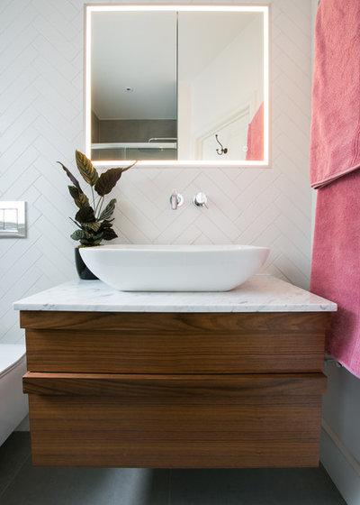 Contemporary Bathroom by Otta Design