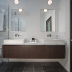 contemporary bathroom by Partners 4, Design