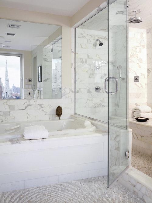 Calacatta Tile Design Ideas & Remodel Pictures | Houzz
