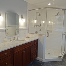 Contemporary Bathroom by Lisa Scheff Designs