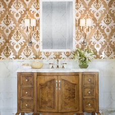 eclectic bathroom by The Furniture Guild