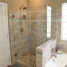 Traditional Bathroom by Layin Pipe Plumbing