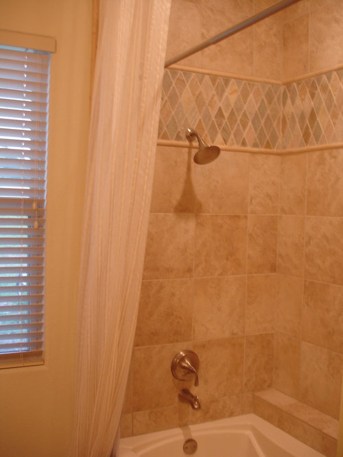 Bathroom Porcelain Travertine Tile Jerusalem Stone Accent