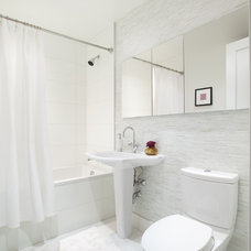 modern bathroom by Prestige Custom Building & Construction, Inc.
