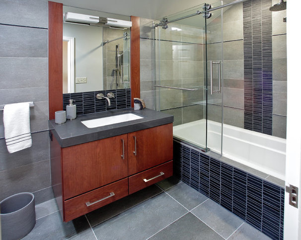 Contemporary Bathroom by AB & K Bath and Kitchen