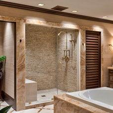 Traditional Bathroom by ACM Design