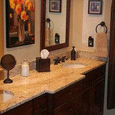 Traditional Bathroom by Rick Kelley Builders