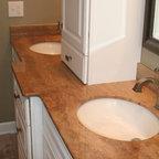 The Gathering House Barn Home Traditional Bathroom