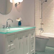 Contemporary Bathroom by RA Design Group, LLC