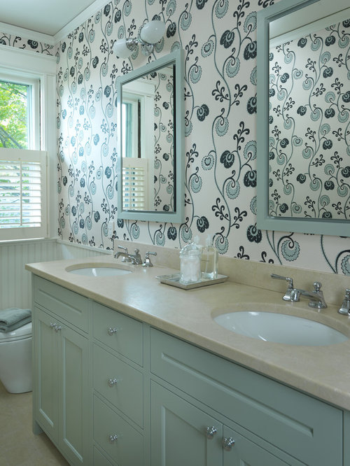 bathroom wall tile painted vanity houzz 11948