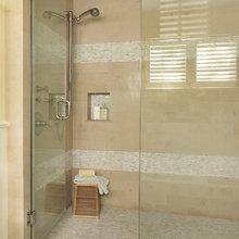accent tiles- showers