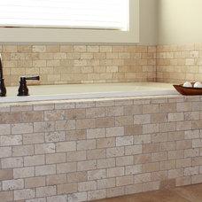 Traditional Bathroom by Rebekah Schaaf, Transitional Designs KC