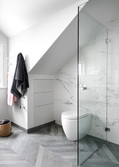 Contemporain Salle De Bain By Schemes U0026 Spaces