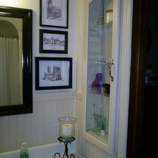 Traditional Bathroom Bathroom redo from 70's to spa-like