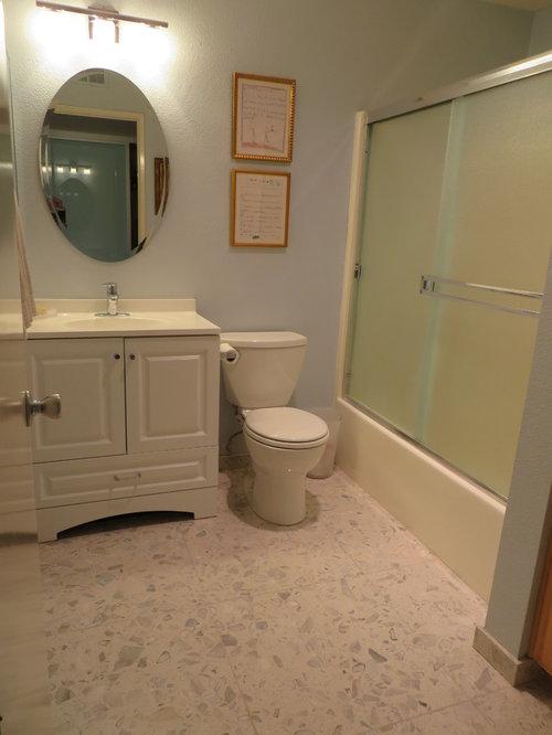 Budget redo of a small bathroom