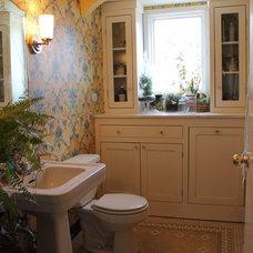 Eclectic Bathroom by Martha Layton Smith