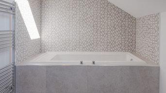 Bathroom refurbishment and remodel in Ewell