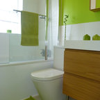 Luxury Apartment in Queen's Gate - Contemporary - Bathroom - london - by TG-Studio