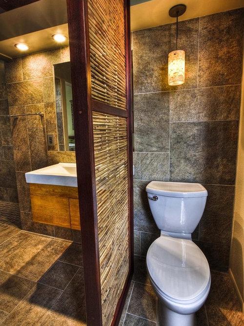 Bathroom divider home design ideas renovations photos for Tropical bathroom design