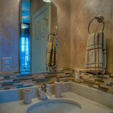 Mediterranean Bathroom by Rendon Remodeling & Design, LLC