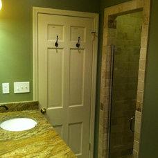 Bathroom by AMP Remodeling