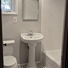 Traditional Bathroom by A Dependable Contractor