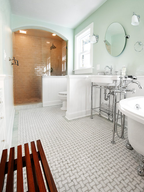 1920 bathroom home design ideas pictures remodel and decor for 1920 kitchen floor tile