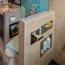 Contemporary Bathroom by House 2 Home Design & Build