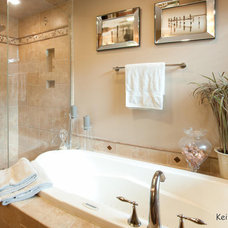 Traditional Bathroom by Apple Wood Construction, Inc.