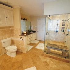 Eclectic Bathroom by BuildTexas.com