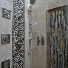 Traditional Bathroom by Center Island Contracting Inc.