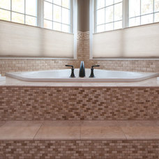 Mediterranean Bathroom by Collins Tile and Stone