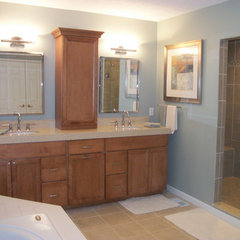 contemporary bathroom by Cabinet-S-Top
