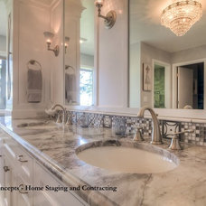 Traditional Bathroom by Creative Concepts - Home Staging and Contracting