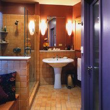 Traditional Bathroom by Custom Kitchens by John Wilkins Inc